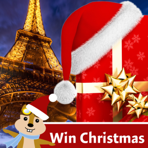 Win Christmas instagram campaign for Hipmunk