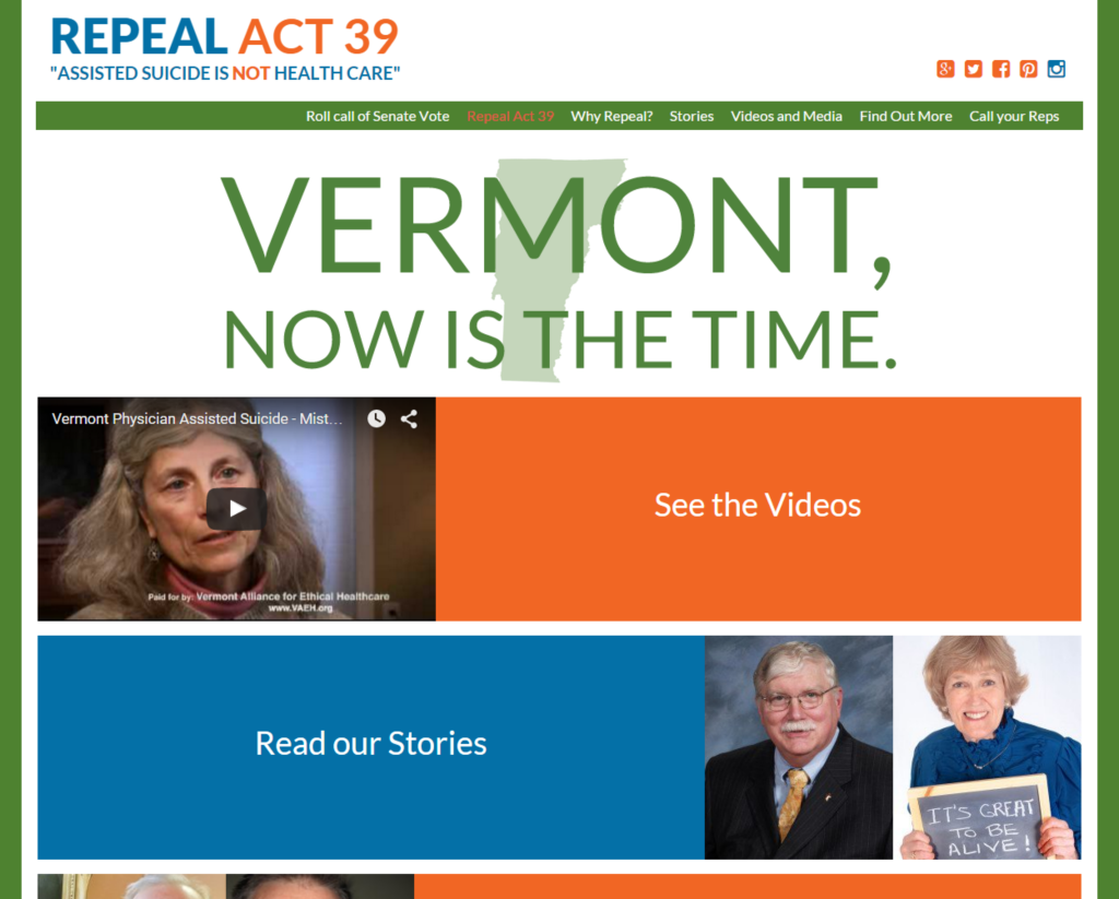 Repeal Act 39 website