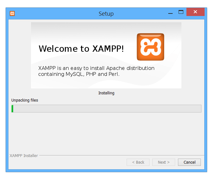Xampp Installing