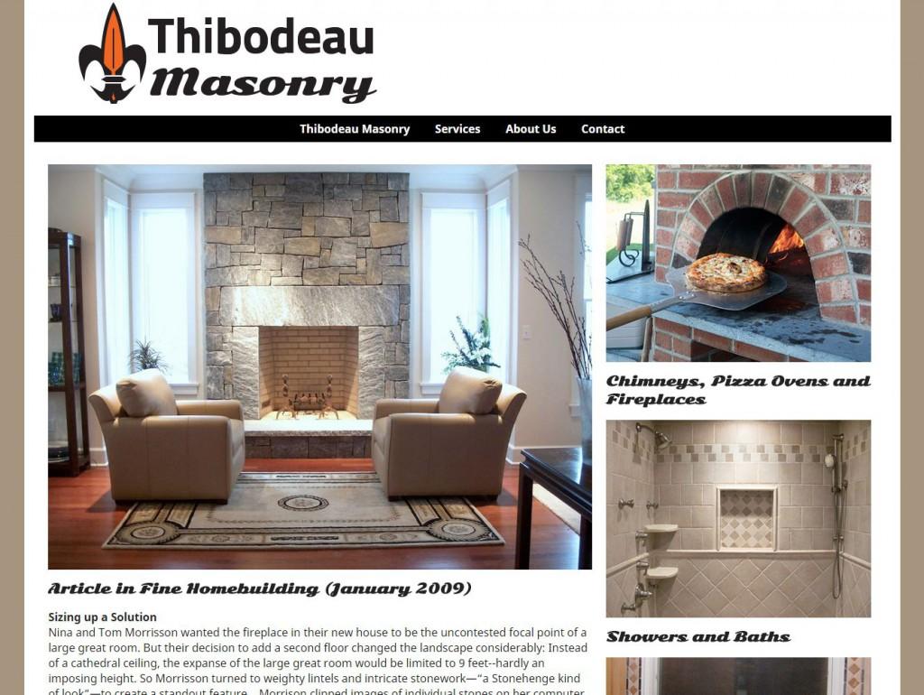 Thibodeau Masonry Site
